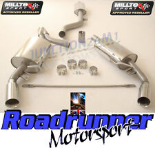 Milltek Renault Clio 197 Cat Back Exhaust System RESONATED Quieter & EC SSXRN303