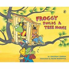 Froggy Builds a Tree House (Paperback or Softback)