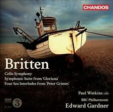 Cello Symphony / Symphonic Suite From Gloriana/ Four Sea Interludes from 'Peter