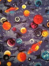 MD15 Space Galaxy Stars Twilight Starry Night Sky Cotton Fabric Quilt Fabric