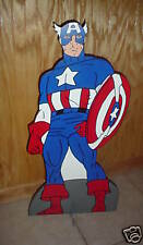 Captain America stand up children's birthday party decorations supplies