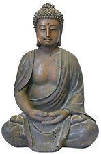 Outdoor Statue Buddha Garden Patio Sculpture Lawn Decorative Decor Figure Yard