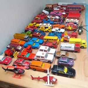 MATCHBOX and CORGI Toy Cars JOBLOT Auction
