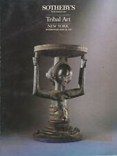 "SOTHEBY'S: ""TRIBAL ART"" AUCTION CATALOG 5/20/1987"