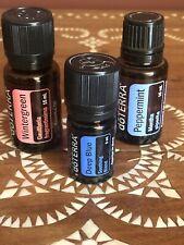 Doterra Lot Wintergreen Peppermint Deep Blue 15ML 5ML Essential Oil New!