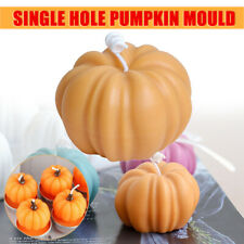 Pumpkin Shaped Candle Making Mould DIY Halloween Candles Craft Soap Mold Tools