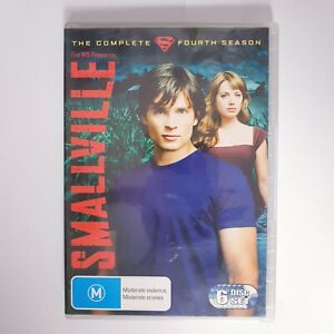 Smallville Season 4 DVD TV Series Free Postage Region 4 AUS - Superman DC Hero