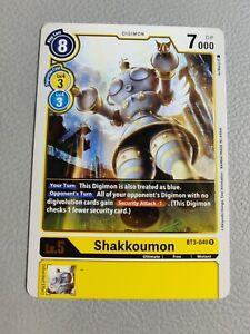 Shakkoumon   NM/M   BT3-040 R   Digimon CCG