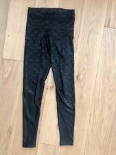 Blackmilk Mermaid Leggings Black Size s
