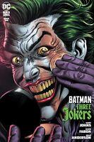Batman Three Jokers #2 Premium Variant Applying Makeup NM