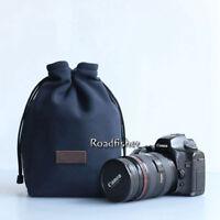 Waterproof Drawstring Camera Bag Insert Pocket Pouch For DSLR Canon Nikon Sony