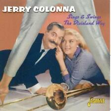 JERRY COLONNA-SINGS AND SWINGS THE DIXIELAND WAY CD Jazz Music