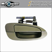 Exterior Door Handle Front Right for 02-06 Nissan Altima EY1 Champagne Gold