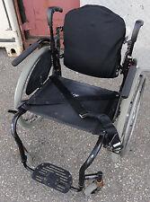 "20"" Quickie GT Rigid Lightweight Manual Wheelchair w/cushion & accessories"