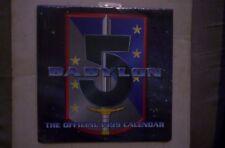 Babylon 5 UK Calendar 1999 NEW,SEALED