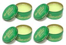 4 X DAX Vert et Doré Cire Coiffante 88,7 ml