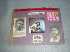 Jean-Luc Ponty Concert Ticket Stub & Memorabilia Oct 1977 Buffalo New York NY