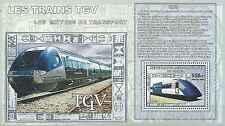 Timbre Trains Congo RD ** année 2006 lot 17536