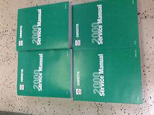 2000 Chevrolet Chevy CORVETTE Service Shop Repair Manual Set OEM BOOK NEW