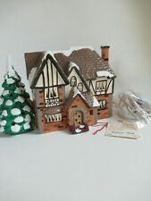 "Dept 56 Original Snow Village Lighted Bldg 50636 ""Highland Park"" 1987  GC"