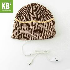 Knit BonBons Fashionable Brown Winter Soft and Cozy Maze-Design MP3 Hats