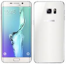 Téléphones mobiles blancs Samsung Galaxy S6 edge Android