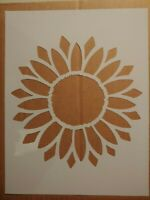 "8.5/"" x 11/"" Sunflower Duo DIY Craft Stencil XS"