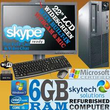 """PC de bureau Windows 7 Lenovo 22"""""""