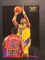 1996 Fleer #203 Kobe Bryant rookie.