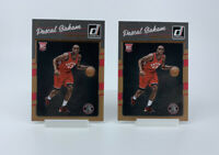 (2 Card Lot) 2016-17 Panini Donruss Pascal Siakam #171 Rookie Card RC Raptors 🔥