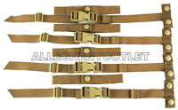 EAGLE USMC STRAP BUCKLE REPAIR ADAPTER KIT CUMMERBUND STAY COYOTE MOLLE 2 SETS
