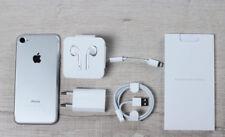 APPLE IPHONE 7 128GB ORIGINAL Libre PLATA - Con la Caja y Todos los Accesorios