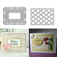 Metal Cutting Die Scrapbooking Card Making Album Decor Dies Best Craft Embo A2P7