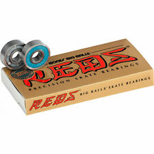 Bones Bearings Big Balls Reds Precision Skate Rated Bearings 8-Pack