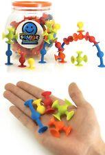 Fat Brain Toys Squigz Mini 75 Piece Set STEAM Preschool Building Toy Game Blocks