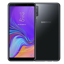 Samsung Galaxy A7 2018 A750F black 64GB LTE/4G Android Smartphone Handy WOW!