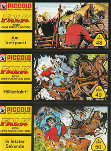 Falk Piccolo 2. Serie, 3er Set mit den Heften Nr. 48 - 50, neu