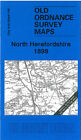 Old Ordnance Survey Map North Herefordshire 1898 - England Sheet 198