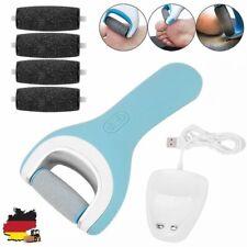 Elektrisch Smooth Pediküre Hornhautentferner Fußpflege | 4x Ersatzrollen Grob