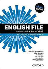 English File third edition: Pre-intermediate: Teacher's Book with Test and Assessment CD-ROM by Oxford University Press (Mixed media product, 2012)