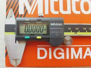 "0-6""/ 0-150mm Absolute Digimatic Caliper Mitutoyo 500-196-30 NEW 0.0005""/0.01"