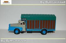 Camion Unic ZU 122 Izoard 59 - 61 Gris & Bleu BREKINA - SAI 2960 - Ech HO