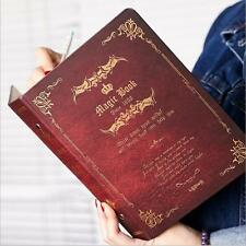 """Magic Book"" 1pc Journal Diary Big Loose Leaf Notebook Coil Lined Papers Planner"