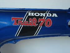 Honda CT70 Trail 70 HKO 2pc. Body/Frame Decal/Sticker Set 70-71 (MFG SECONDS)
