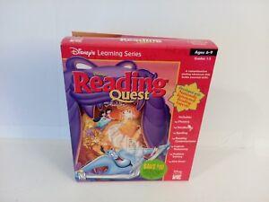 Buena Vista Disney's Reading Quest with Aladdin for PC, Unix, Mac, Linux SEALED