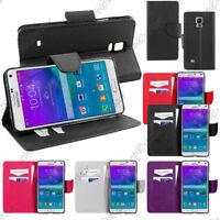 ebestStar Etui Housse Portefeuille Samsung Galaxy Note 5 4 3 Edge +VERRE Trempé
