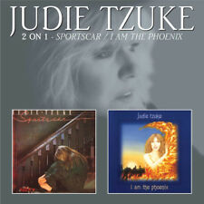 Judie Tzuke : Sportscar/I Am the Phoenix CD (2013) ***NEW*** Fast and FREE P & P