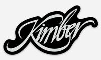 Kimber Custom Logo Die Cut Magnet for Fridge or Toolbox Firearms Gun