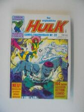MARVEL COMICS Libro Tascabile della incredibile Hulk n. 22 Condor Editrice z.1-2