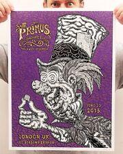 Mark Dean Veca London Primus Print Alice in Wonderland Concert Poster Disney